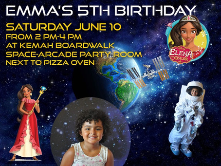 You are invited to a party June 10th 2-4  And showcase of the arcade at Kemah boardwalk.  ep 54