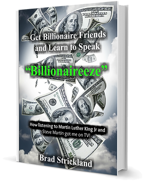 cover of Billionaireeze book by BoMoSo Brad Strickand