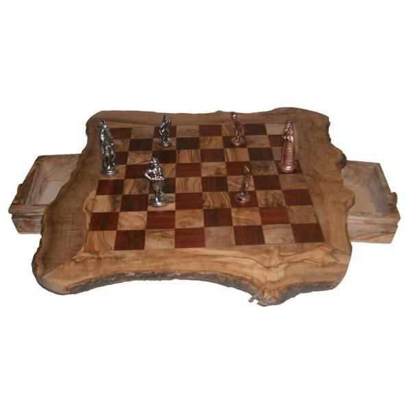 Jeux d'échecs rustique