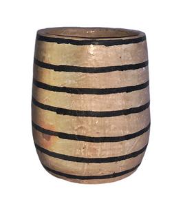 vase rayé