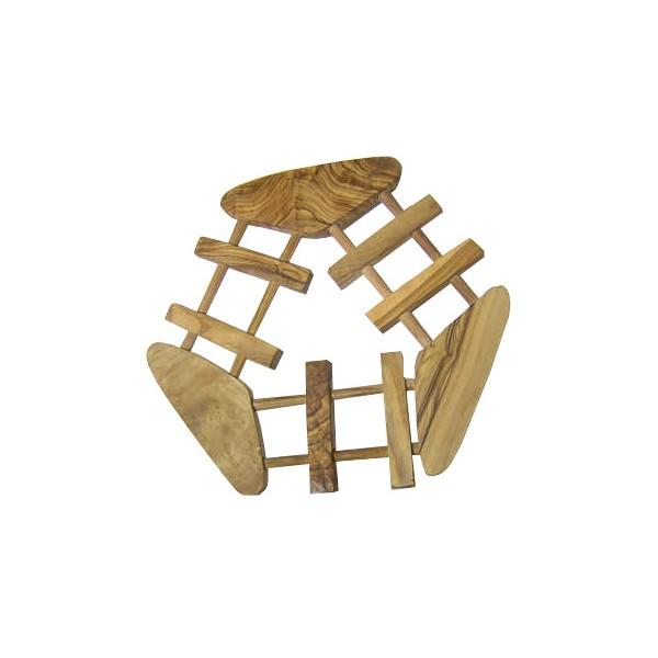 Dessous plat hexagonal