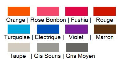 Coloris Peignoirs