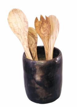 vase noire