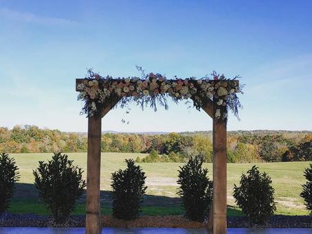 Wedding at the Barn on Triple Creek Farm