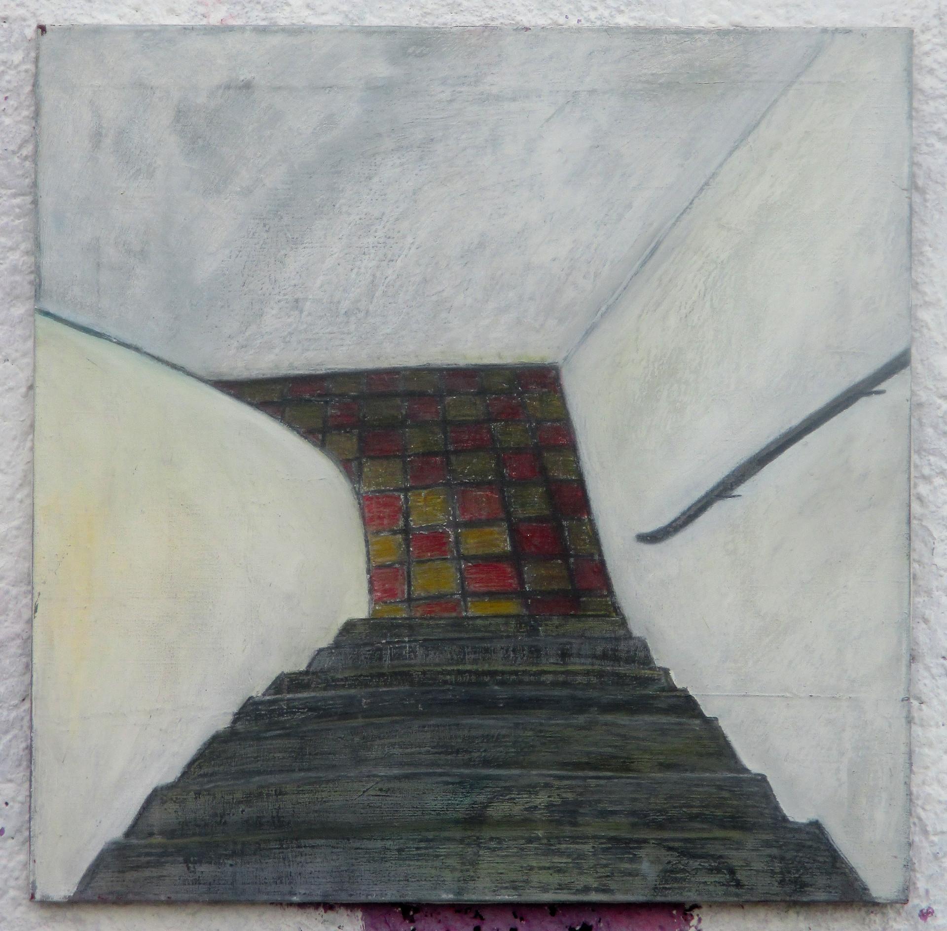 Dřevěné schody, Domeček