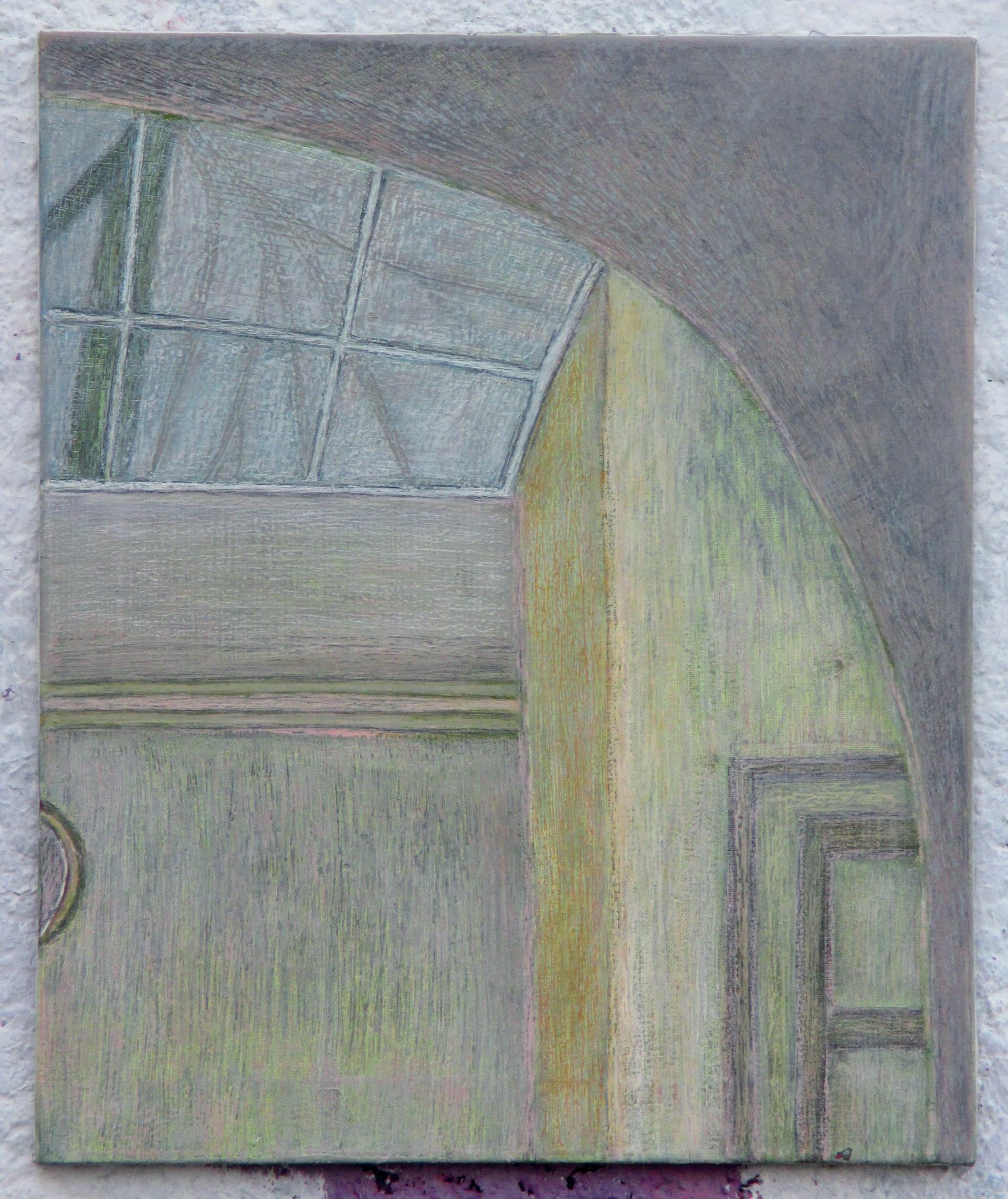 Horní hala s proskleným stropem