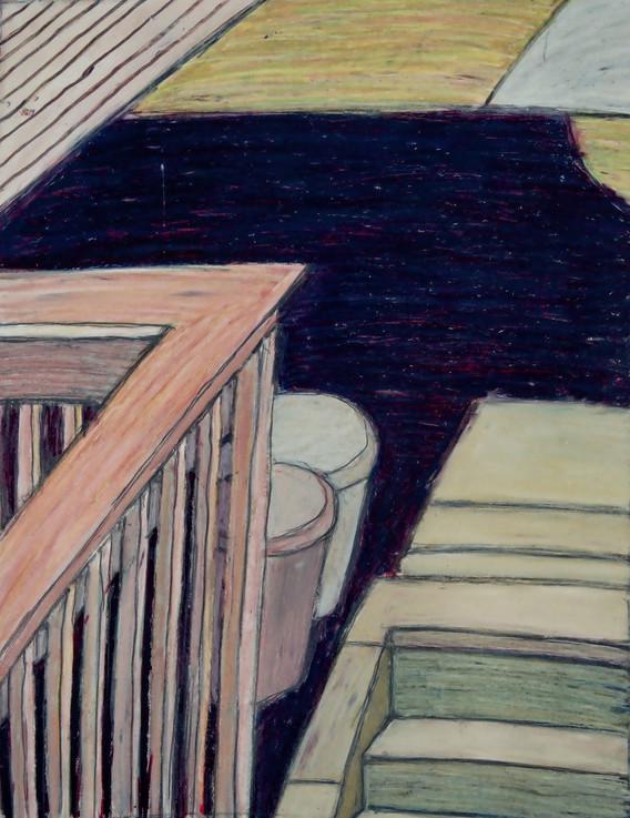 Villanova - veranda a popelnice