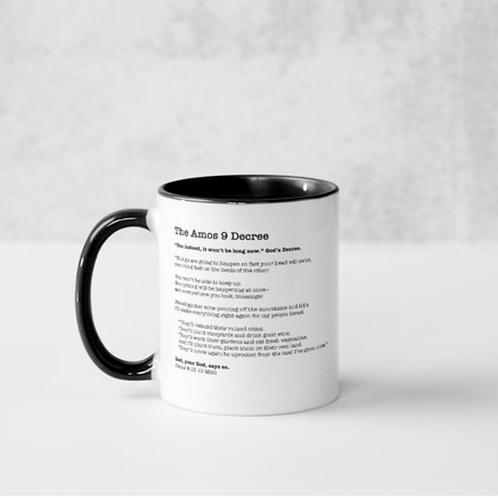 Amos 9 Decree Mug