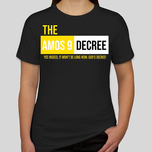 The Amos 9 Decree! w/o Scripture on the Back