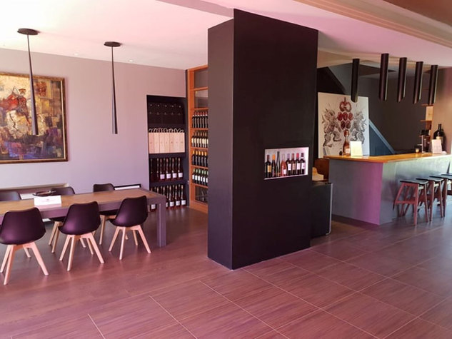 Tasting Room of Gofas Estate