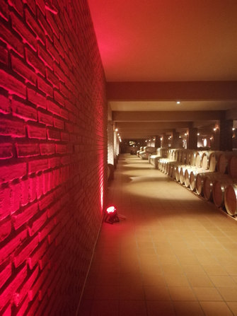 Skouras Barrel Room