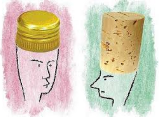 Cork vs. Screw Cap