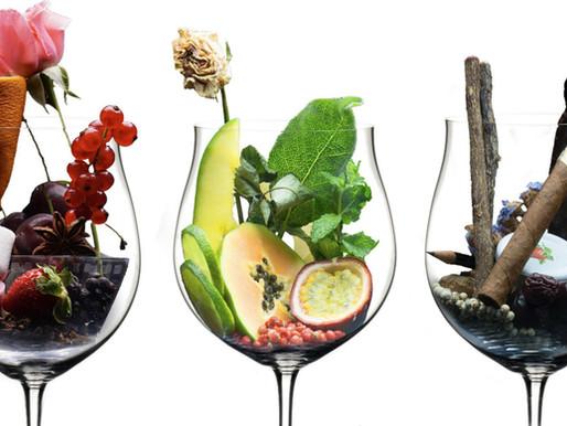 The aromas of grapes