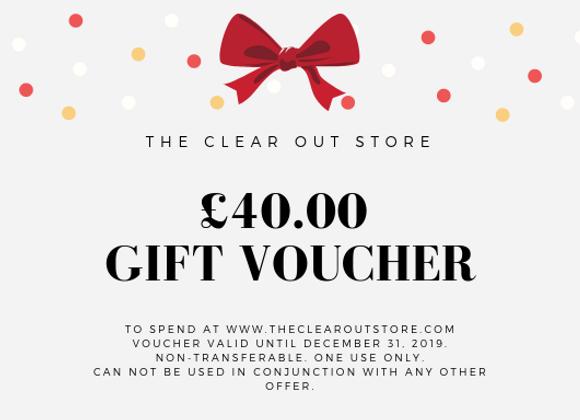 £40 Gift Voucher
