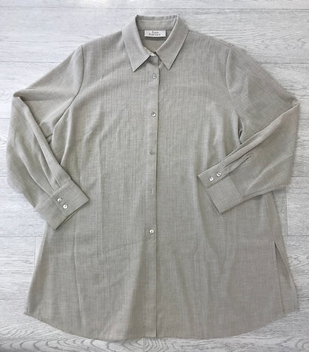 ⚫️ANN HARVEY beige/sand shirt. Size 20.