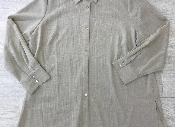 ⚫️ANN HARVEY beige/sand shirt. Size 20.