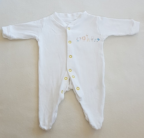 GEORGE. White baby grow with animals. Size Tiny Baby. 6lbs