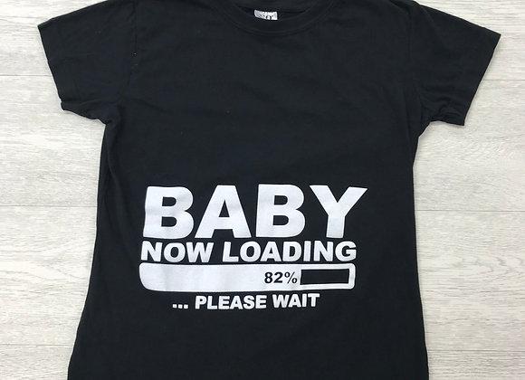 ⚪️Black maternity t-shirt. Size Small.