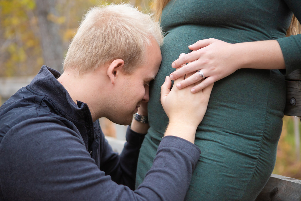 Couple Maternity, Fall Maternity Session, Superior, WI, Off the Beaten Path,