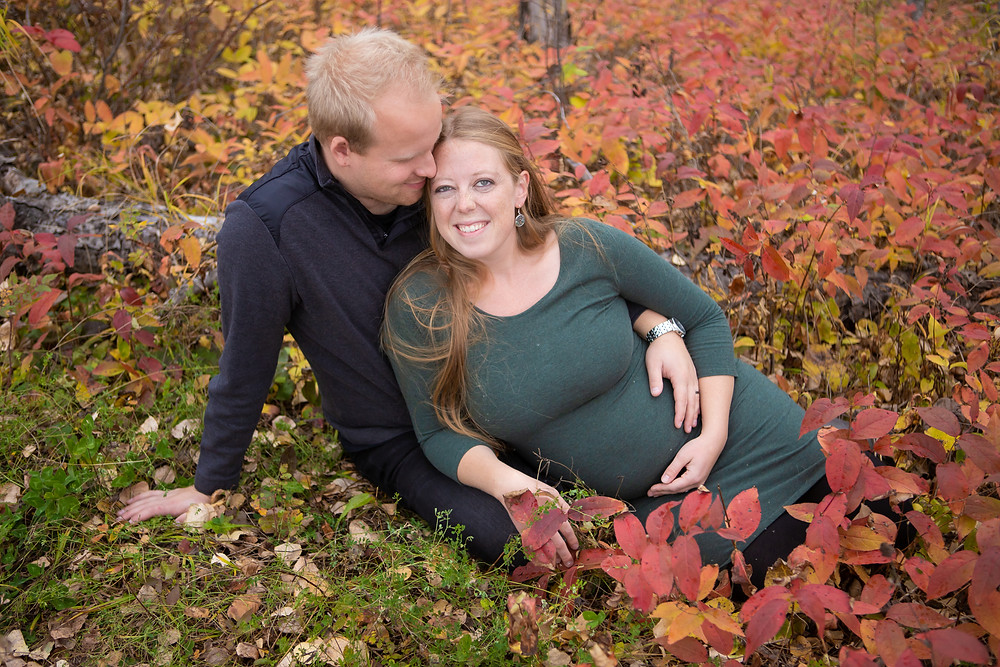 Fall Maternity Session, Superior, WI, Off the Beaten Path,