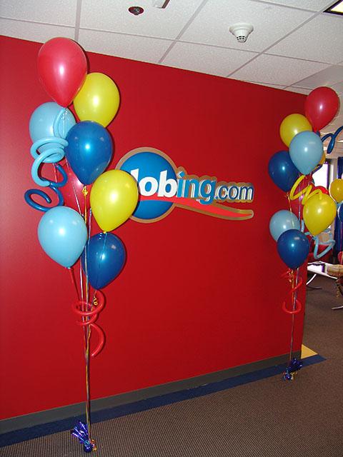 şirket organizasyonları, balon süsleme