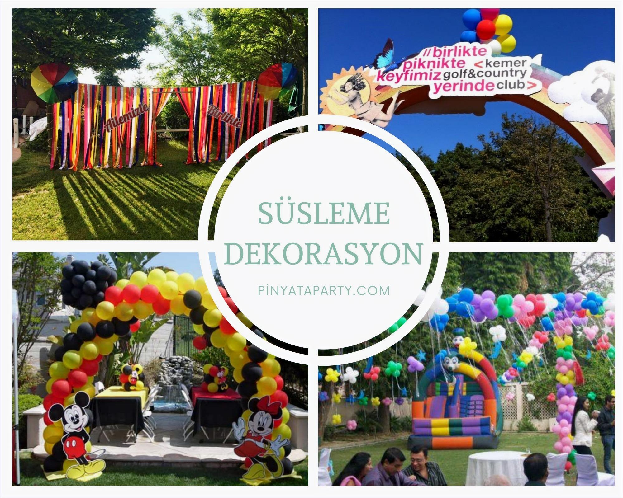 Balon Süsleme ve Dekorasyon Hizmetleri