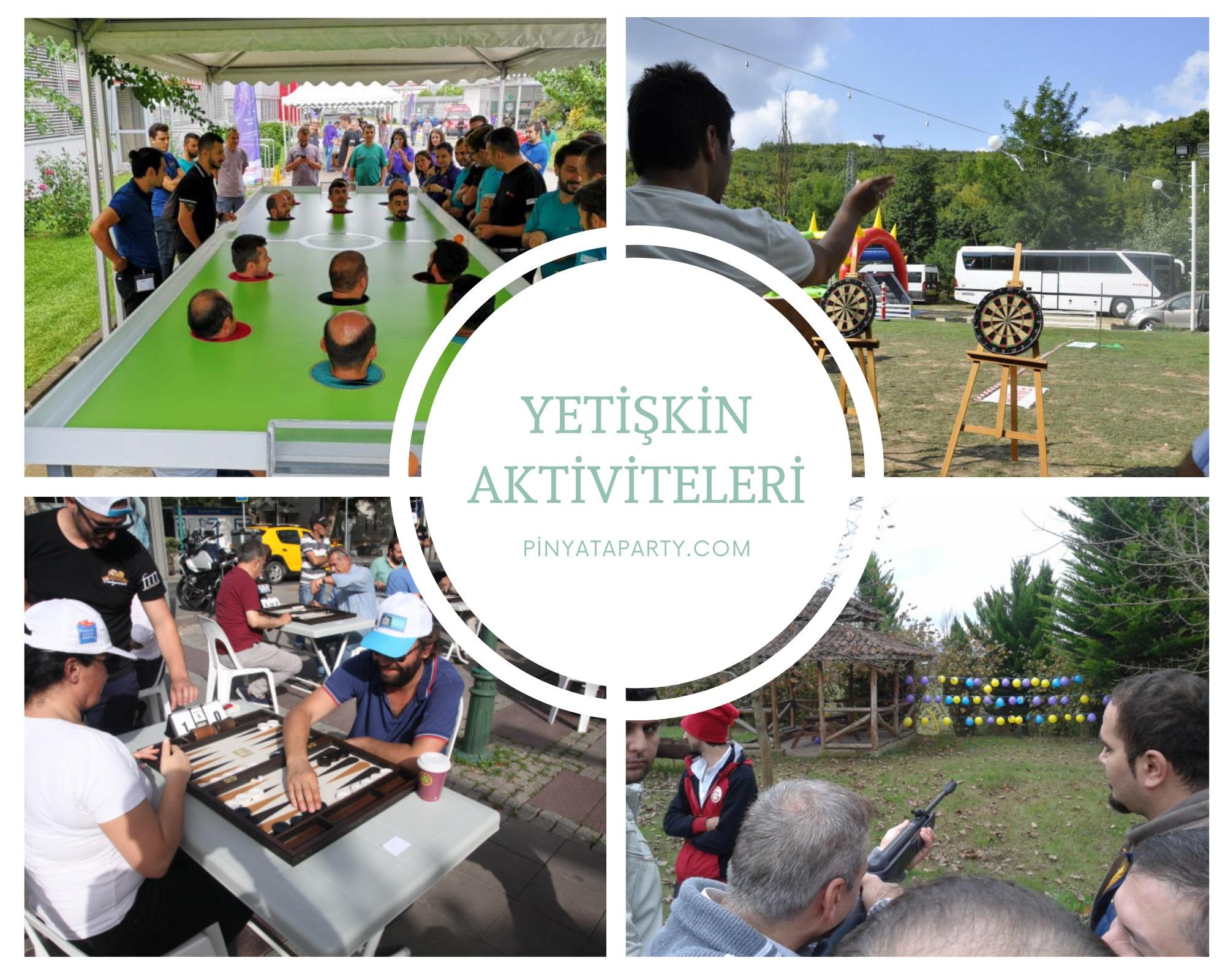 Piknik Yetişkin aktivite ve Oyunları