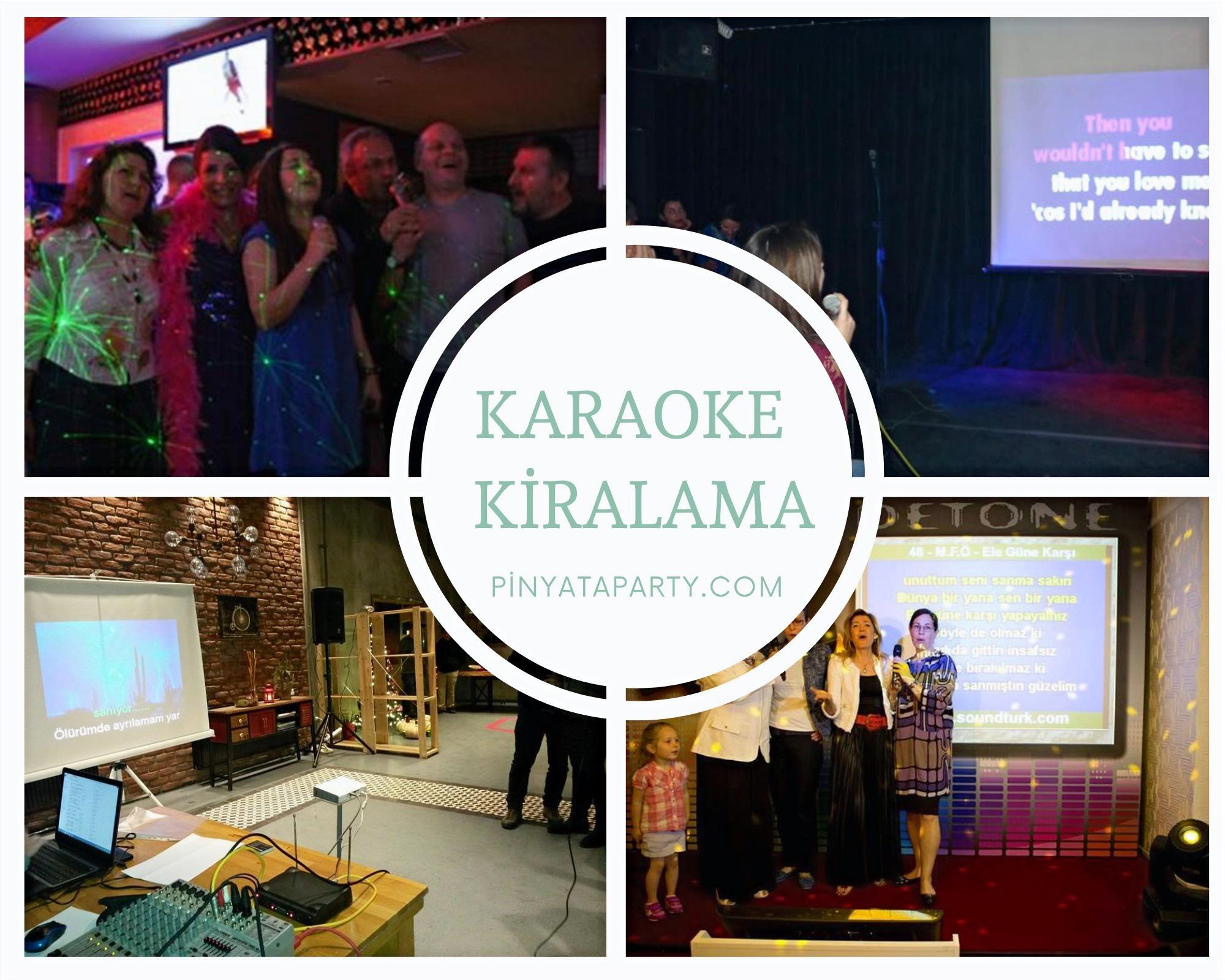 Karaoke Sistemi Kiralama