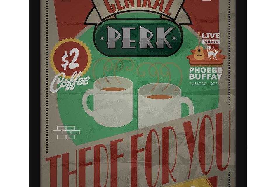 Pôster - Friends: Central Perk