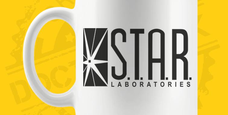 Caneca - Flash: Star Labs