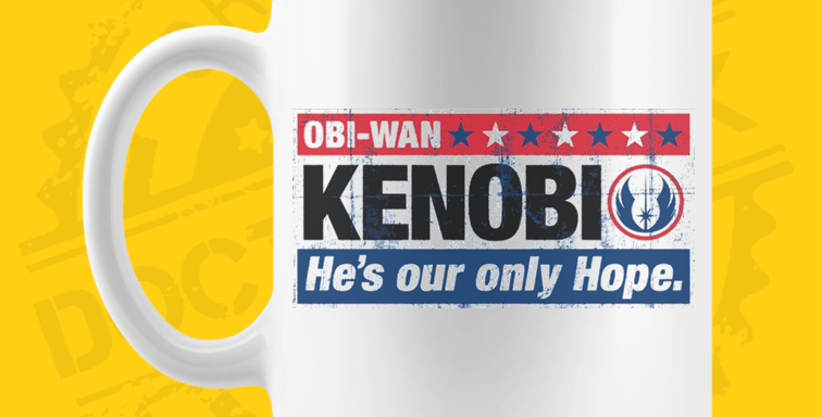 Caneca - Star Wars: Kenobi