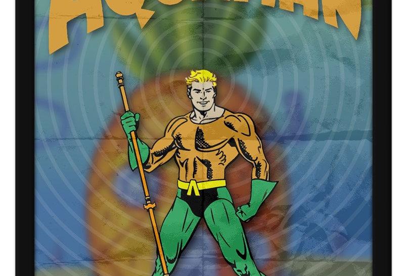 Pôster - Aquaman: Fenda do Biquini