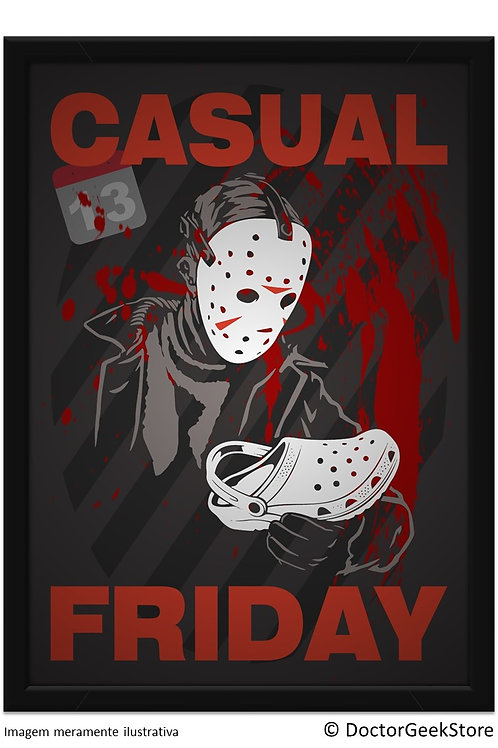Pôster - Jason: Casual Friday