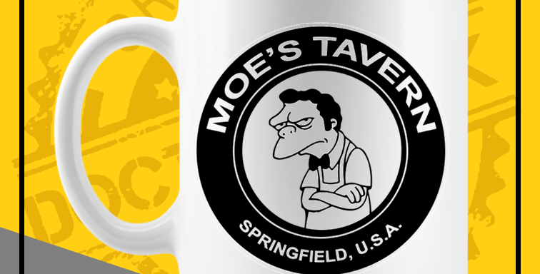Caneca - Simpsons: Moe's Tavern 01