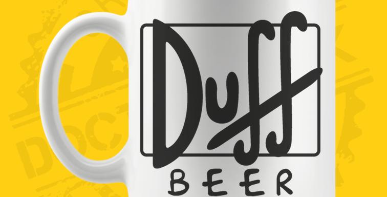 Caneca - Simpsons: Cerveja Duff
