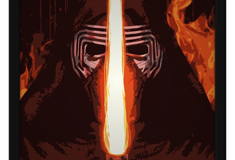 Pôster - Star Wars: Kylo Ren