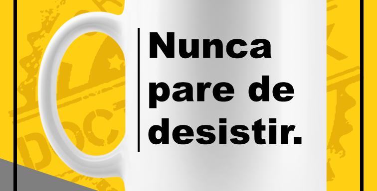 Caneca - Nunca Pare