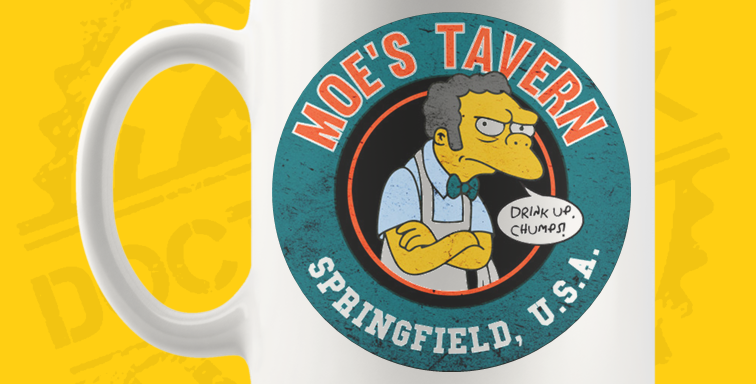 Caneca - Simpsons: Moe's Tavern 02