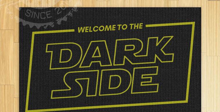 Tapete Capacho - Star Wars: Dark Side