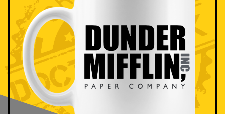 Caneca - The Office: Dunder Mifflin