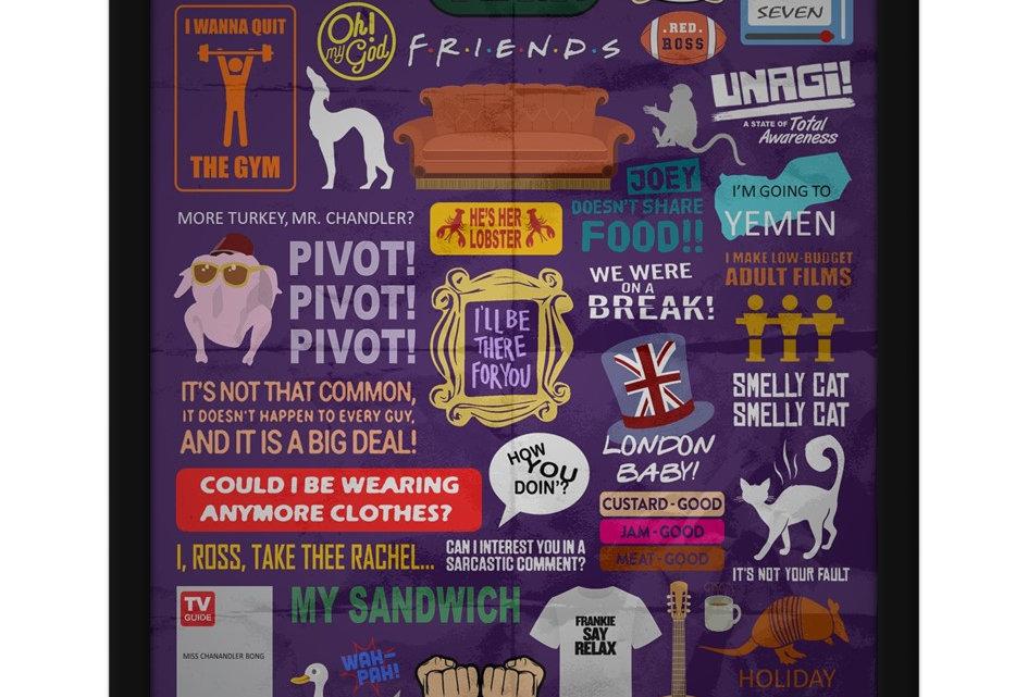Pôster - Friends: Tudo junto e misturado