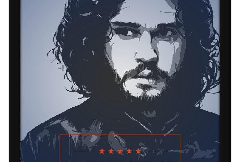 Pôster -Game of Thrones: Jon Snow
