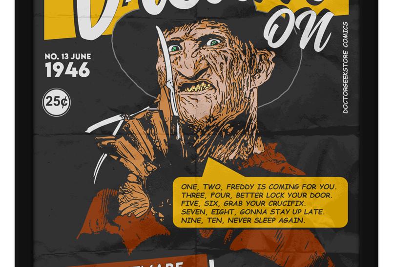 Pôster - Freddy Krueger: Dream On