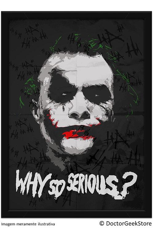Pôster - Joker: Ledger - Why so Serious