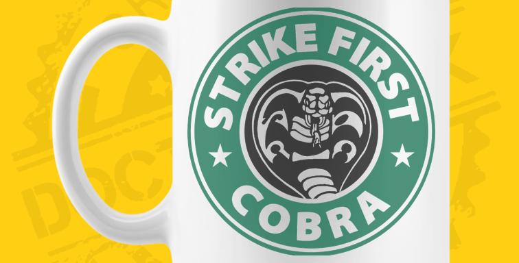 Caneca - Cobra Kai Café