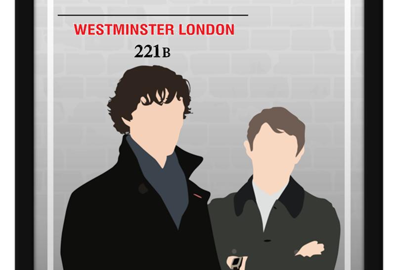 Pôster - Sherlock