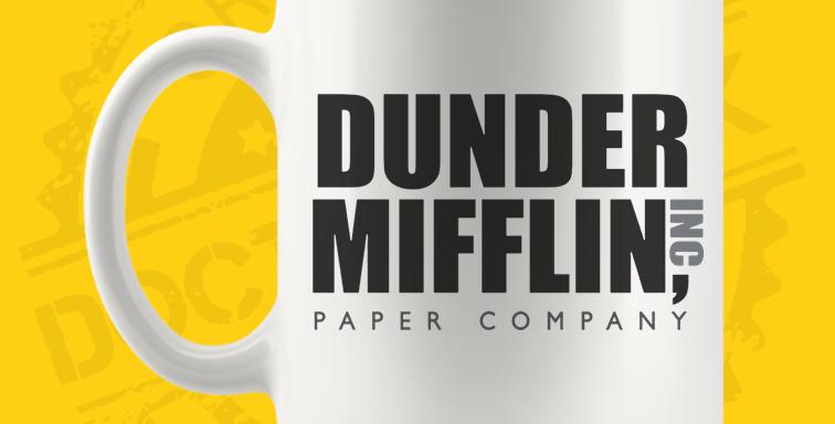 Caneca - The Office: Dunder Mifflin