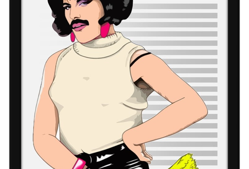 Pôster - Queen: I Want to To Break Free