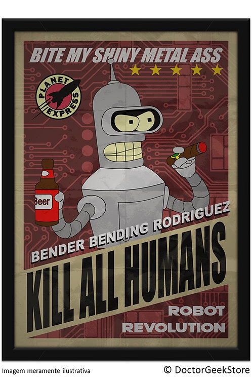 Pôster - Futurama: Bender Revolution