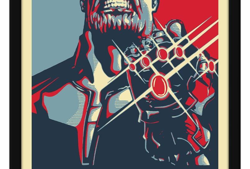 Pôster - Thanos Inevitável